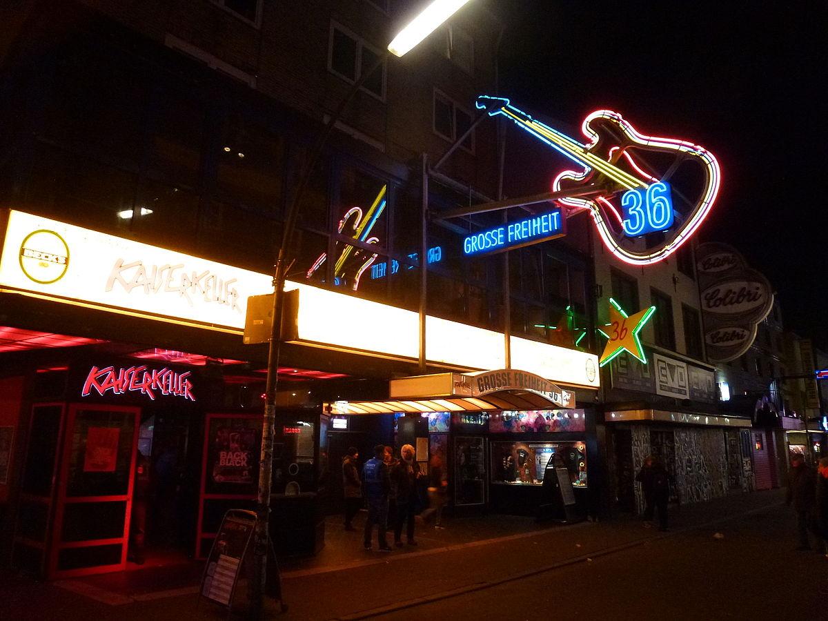 Clubs und Discos: Große Freiheit 36, Hamburg - Berlin
