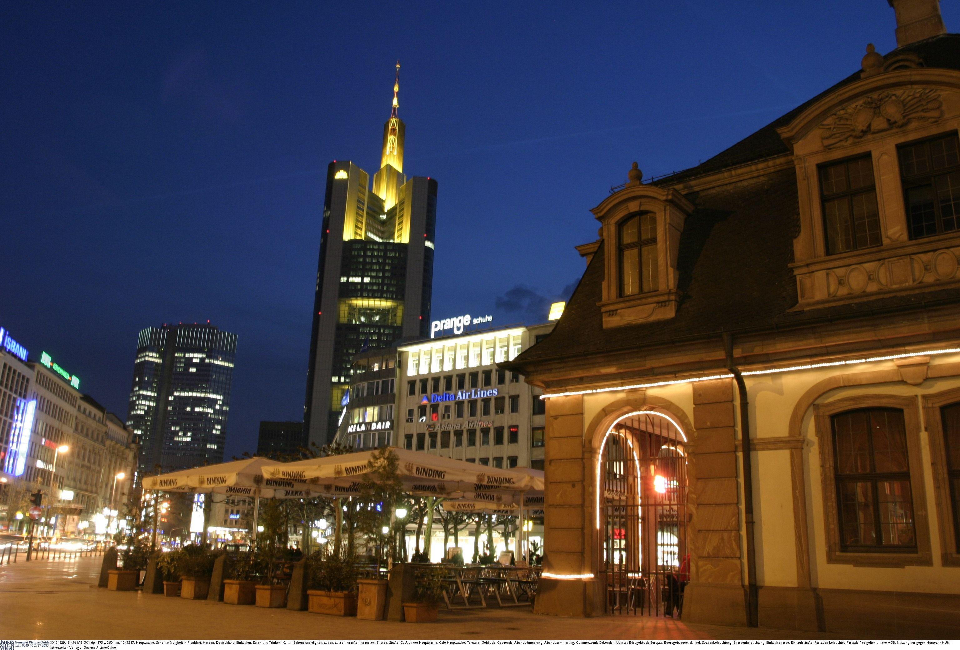 Hauptwache Frankfurt am Main, Frankfurt