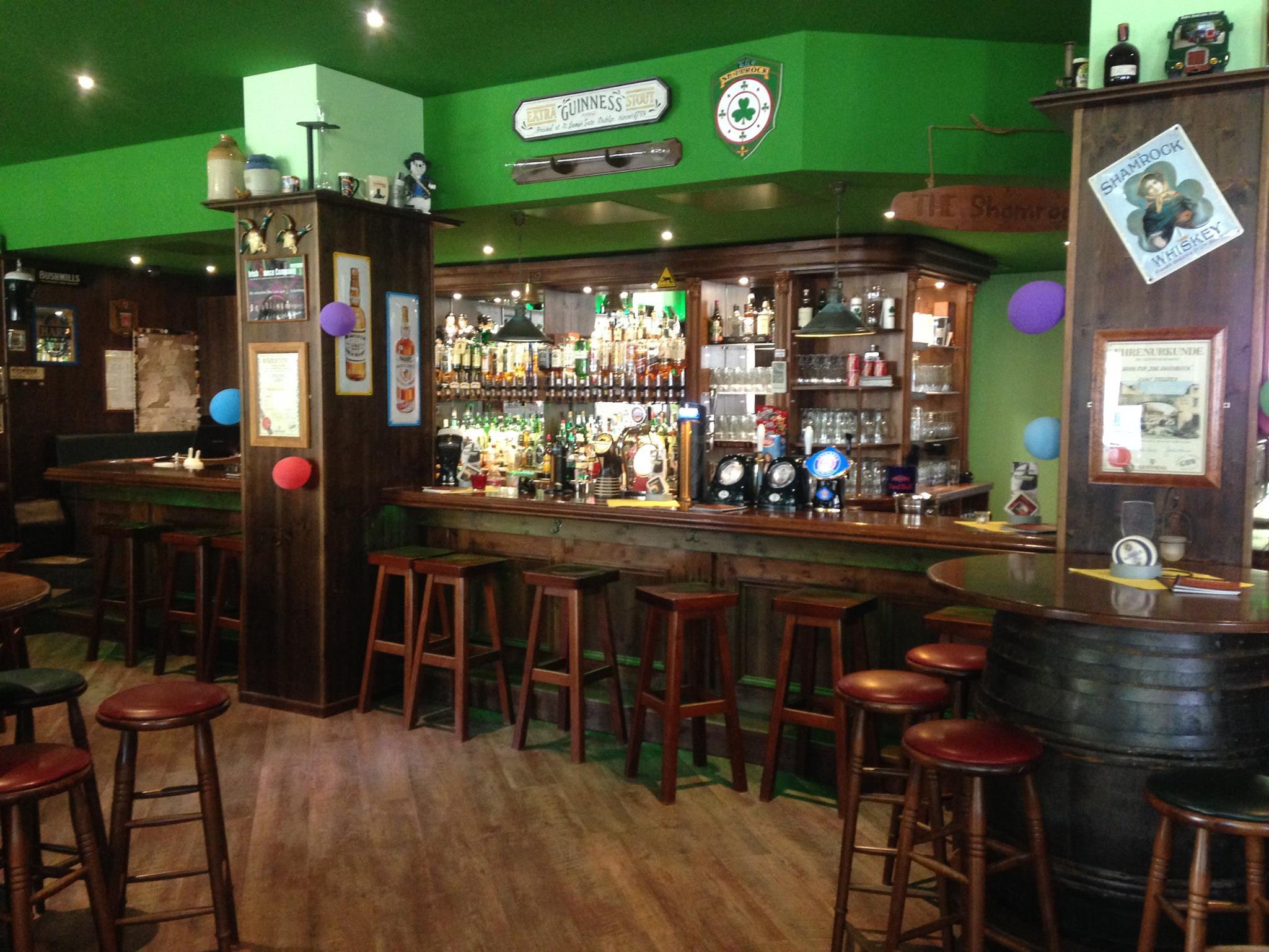 Neu entdeckt: Shamrock - Irish Pub   PRINZ